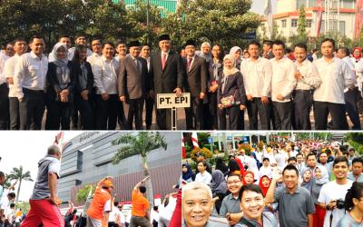 Peringatan HUT Kemerdekaan Republik Indonesia Ke-72 PT Energi Pelabuhan Indonesia