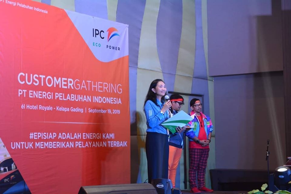 Kegiatan Customer Gathering PT EPI dengan Pelanggan