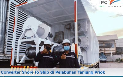 Converter Shore to Ship di Pelabuhan Tanjung Priok