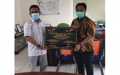 Peresmian Pembangunan Fasilitas Genset Listrik di Wilayah Pelabuhan Tanjung Pandan